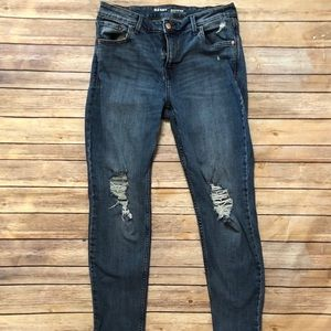 Old Navy Rockstar Mid-rise Distressed Jeans